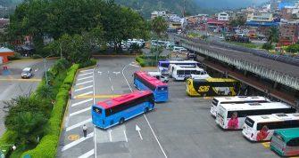 Queda restringida operación de terminales de pasajeros en el Tolima