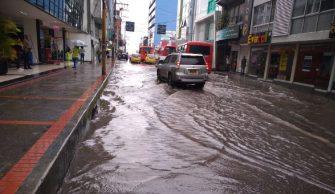 Alerta por fuertes lluvias en Ibagué