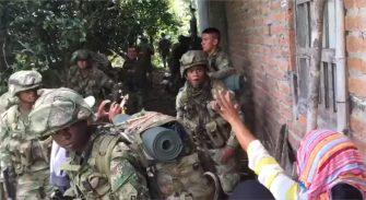 Tensa situación en Santander de Quilichao – Cauca entre el ejército y campesinos