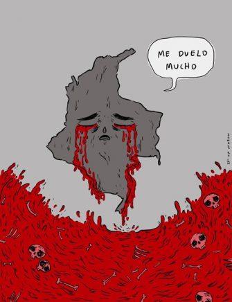 Me duelo – Caricatura del día por Eri Ka Maron