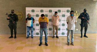 Cae banda de extorsionistas de la comisión Dagoberto Ramos en el Tolima