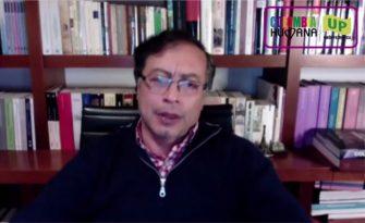 Gustavo Petro anunció su precandidatura a la Presidencia por la Unión Patriótica