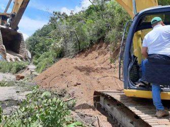 Fue habilitado paso provisional en la vía Rovira-Playarrica-Roncesvalles