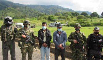 Capturaron a alias «Reneco», cabecilla de la Comisión Ismael Ruiz en el Tolima