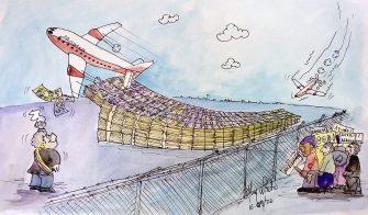 Pidiendo pista – Caricatura del día por Herney Nieto