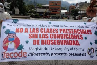 Docentes del Tolima se sumaron al Paro Nacional