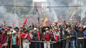 Centrales obreras y Sindicatos inician jornada de Paro Nacional