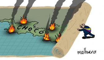 Chocó – Caricatura del día por Malbuena