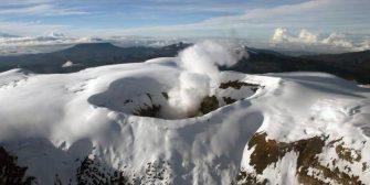 Población aledaña al Nevado del Ruiz no debe confiarse