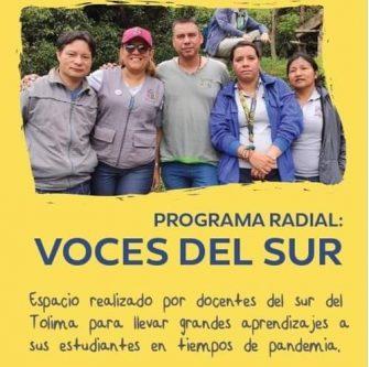 Docentes del Tolima ganaron el premio Compartir del Maestro 2020, en la categoría de colectivos