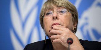 Bachelet insta a Colombia a aumentar protección a la población debido al aumento de la violencia en zonas rurales