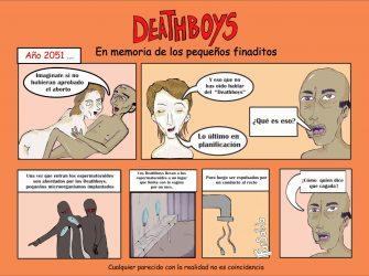 DeathBoys por Andrés Suache