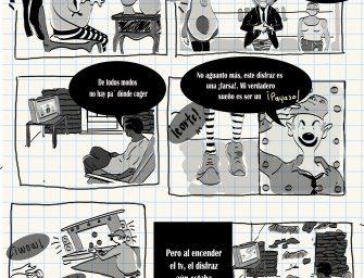 El sueño de payasín – Por Liz O.