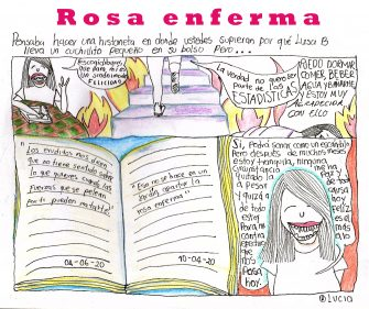 Rosa enferma – Por Mónica Rozo