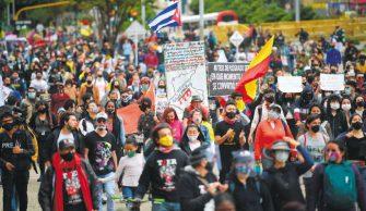 EL PARO SE MANTIENE, LA PROTESTA ES UN DERECHO FUNDAMENTAL