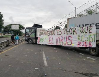 """Isabel Cristina Zuleta: """"Se equivocan quienes están en un discurso en contra de los bloqueos que dignamente realiza el pueblo colombiano"""""""