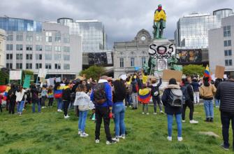 IZQUIERDA UNIDA EL MOVIMIENTO POLÍTICO ESPAÑOL RECHAZÓ LA REPRESIÓN DE LA PROTESTA SOCIAL EN COLOMBIA
