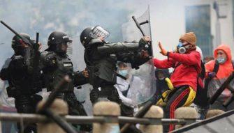 Se consolida la pena de muerte para la protesta social en Colombia