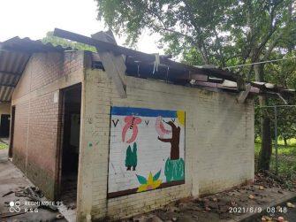 Colegio de la Vereda Potrerillo se cae a pedazos
