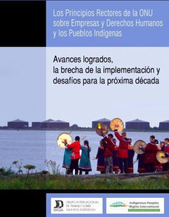 Los Principios Rectores de la ONU sobre Empresas y Derechos Humanos y los Pueblos Indígenas – Avances logrados, la brecha de la implementación y desafíos para la próxima década