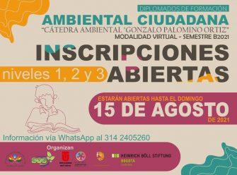 Diplomado gratis en Formación Ambiental Ciudadana