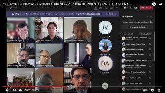 Diputado Renzo García rechaza la demanda de perdida de investidura ante el tribunal Administrativo del Tolima.