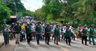 Jueza anula orden de desalojo a indígenas en zona petrolera en el municipio de Ortega, Tolima.