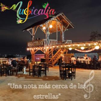 Musicalia: el mirador restaurante más cercano a las estrellas