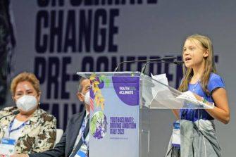 """Greta Thunberg denuncia """"la traición"""" de los líderes políticos a las generaciones actuales y futuras"""